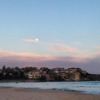Full moon over Bondi
