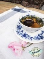 en kopp grönt tea