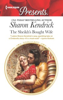 THE SHEIKH'S BOUGHT WIFE - Book Cover