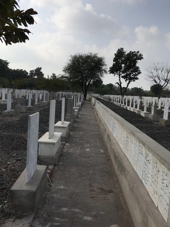 The Bahishti Maqbara (Heavenly graveyard)  near Faisalabad where many of the slain Ahmadis now rest in peace