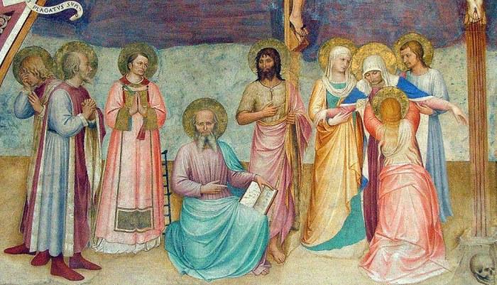 Fra Angelico frescoes-San-Marco