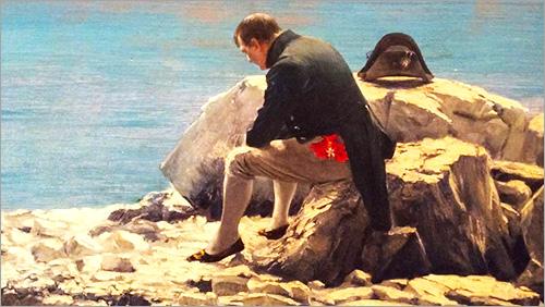 Napoleon's first defeat