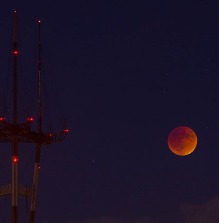 """View of lunar """"Eclipse from Grand View Park"""" by Ocu-Master is licensed under CC BY-NC-ND 2.0"""