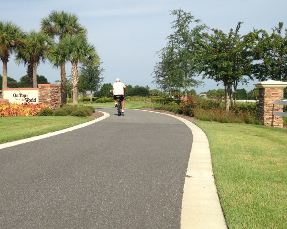 On Top of the World Communities<br>SW 80th Multi-Modal Path