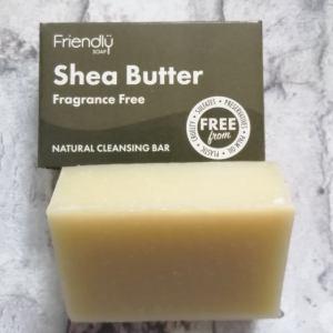 shea butter facial cleansing bar