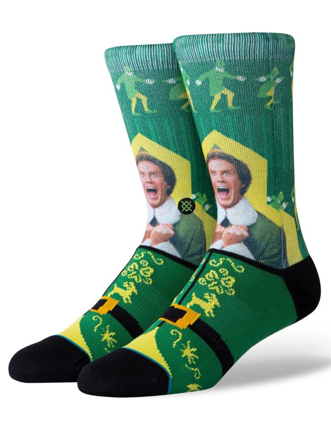Stance I Know Him Elf Mens Crew Socks