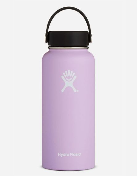 Hydro Flask Lilac 32oz Wide Mouth Water Bottle