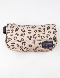 JanSport Leopard Medium Accessory Pouch