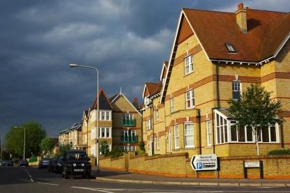 Straße in Weymouth