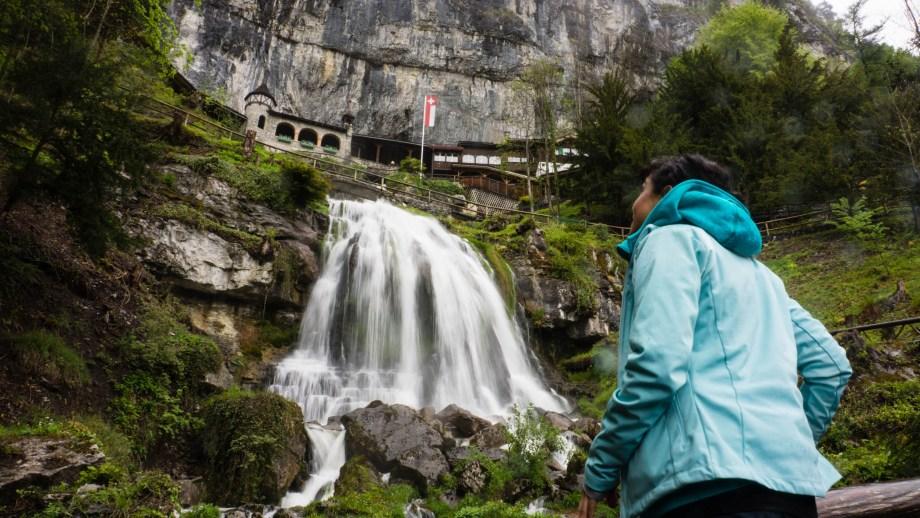 St. Beatus Caves Waterfall