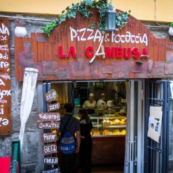 An Italian Pizza Place