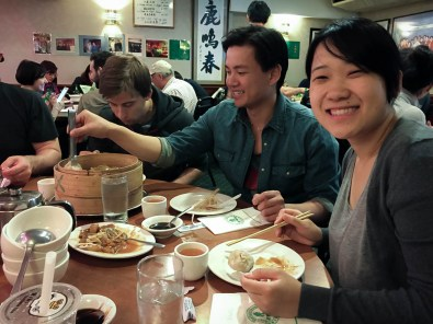 Authentic Chinese Food after 2 weeks of European Food felt so good!