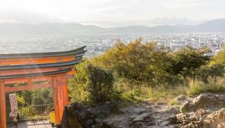 Fushimi Inari Half-way up