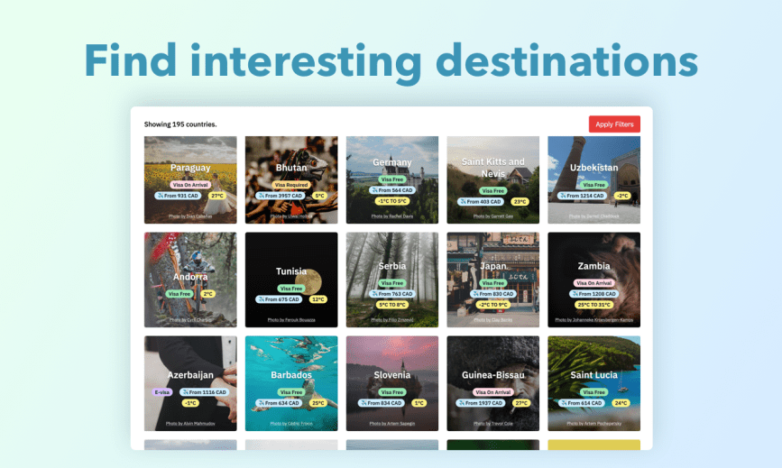 Building a Travel App with 1M+ Data Points