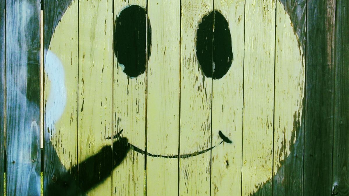 Smiley med sigar