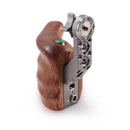 Right Side Wooden Handle for Shoulder Mount System with R/S Button