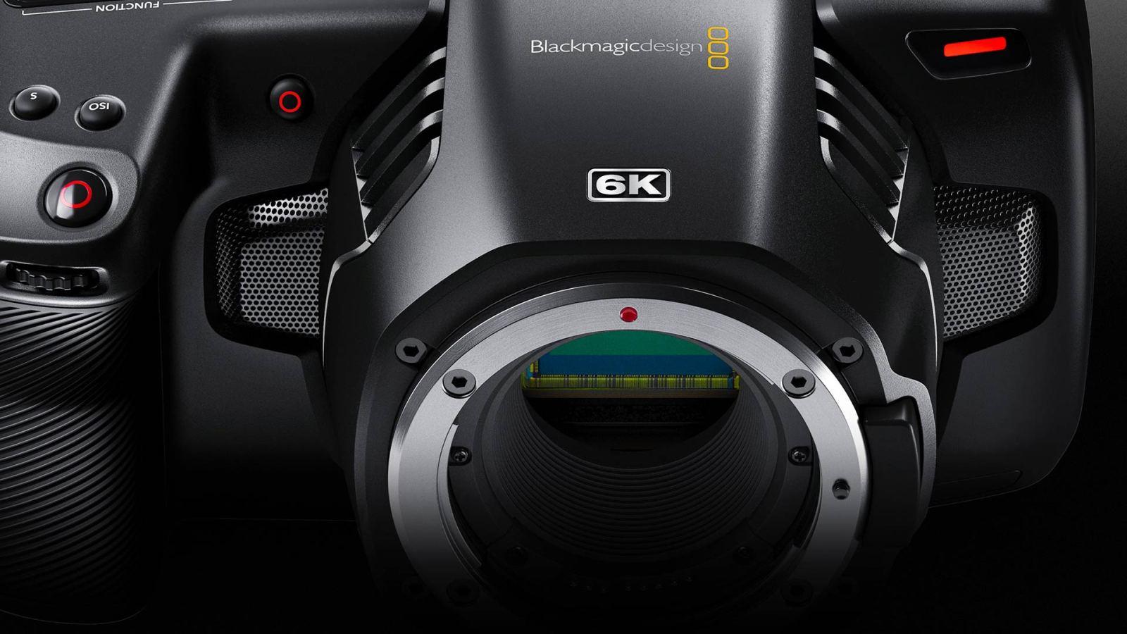 bmpcc 6k blackmagic pocket cinema camera