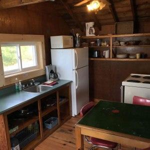 cabin four kitchen