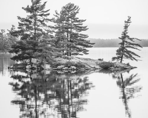 small island on the french river