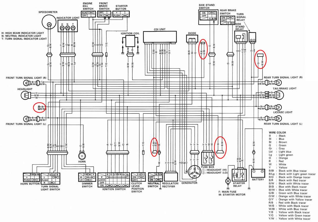 Magnificent 06 Suzuki Gsxr 600 Wiring Diagram Ideas - Everything You ...