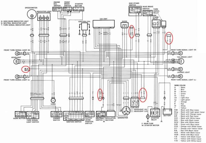 Contemporary 06 Suzuki Gsxr 600 Wiring Diagram Model - Schematic ...