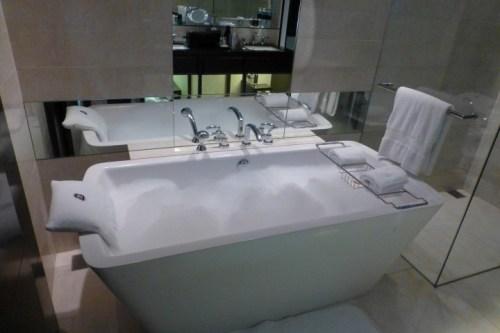 Bubble Bath - it's tough vacationing...