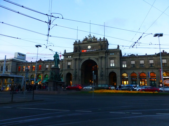 Tour of Zürich - Zürich Hauptbahnhof