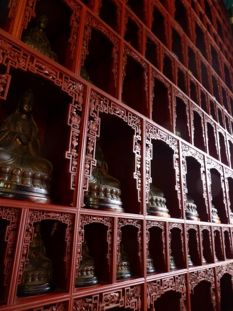 This is why we initially thought this was the Temple of 10,000 Buddhas.