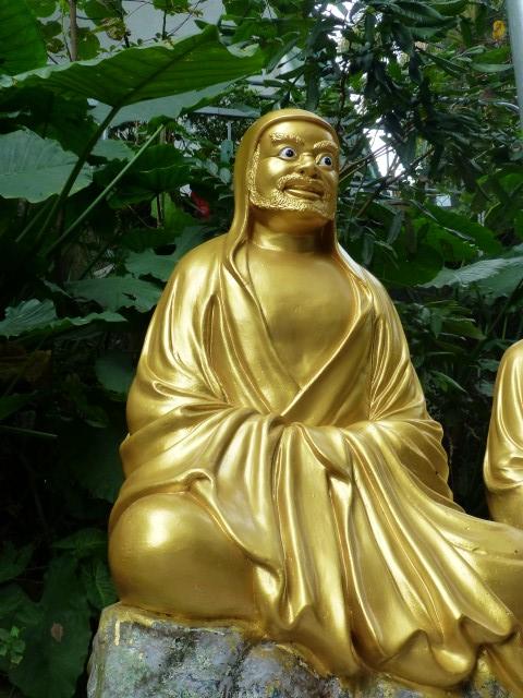 Bearded Bug-Eyed Buddha