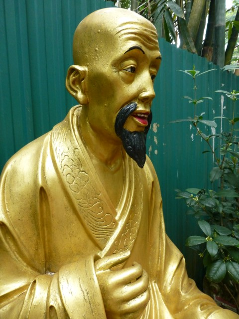 Loved this Buddha with inquisitive face and crinkled forehead.