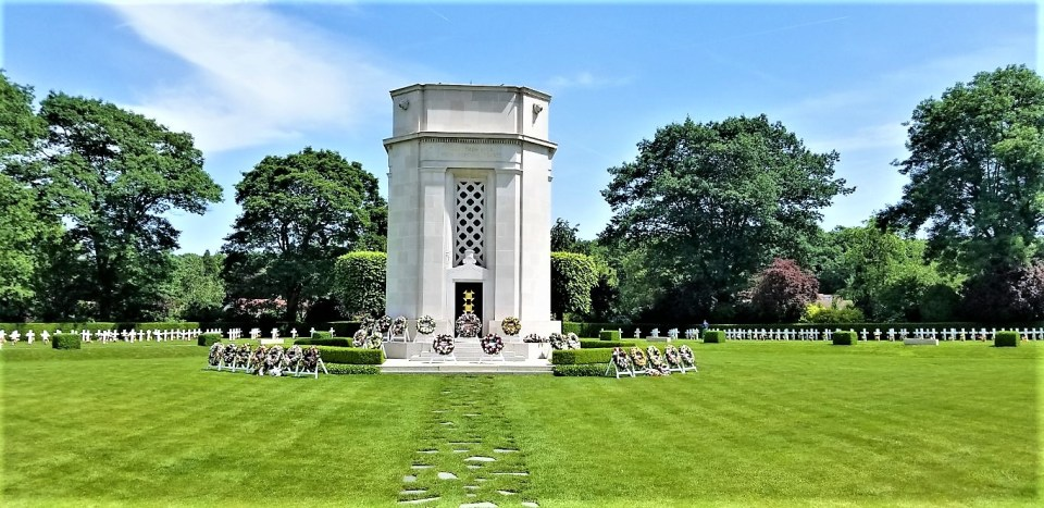 Stone Chapel at the American Cemetery