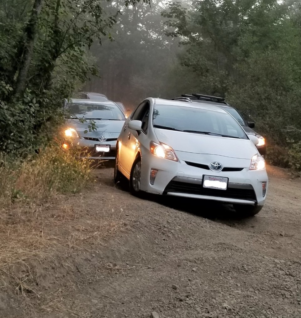 Off-Roading in a Prius