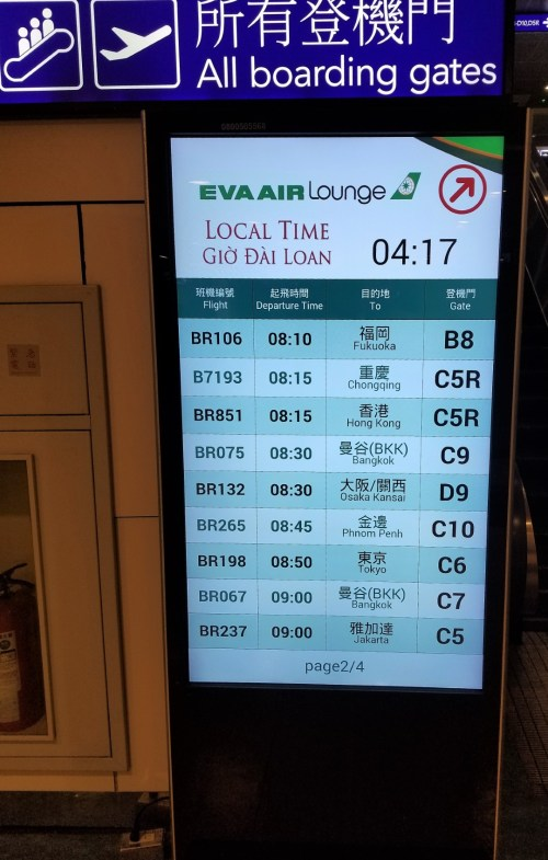 The Departure Board