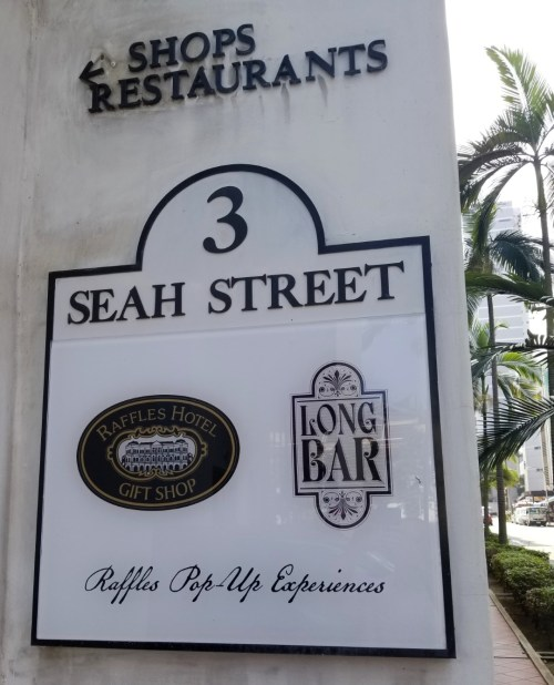 Raffles Bar PopUp Singapore Sling