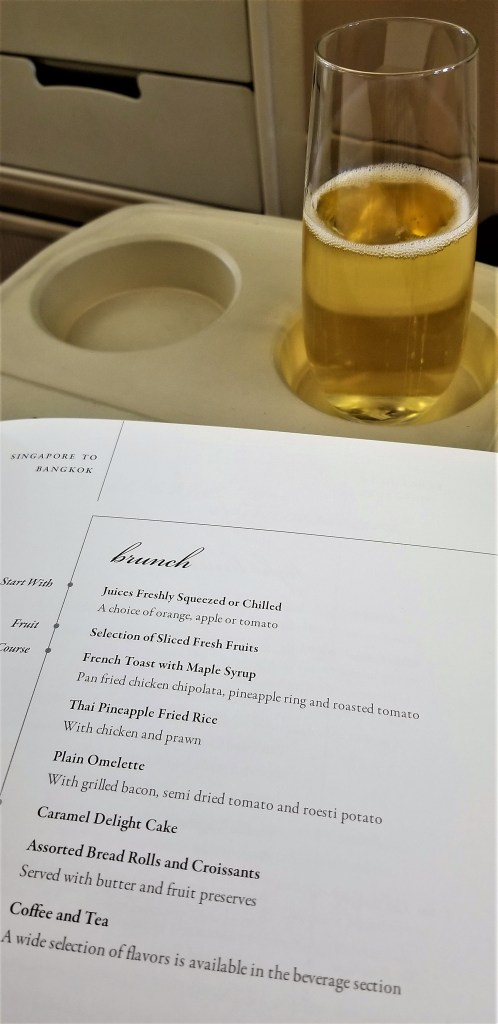 Champagne and Brunch Menu