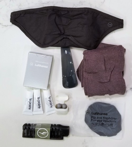 Lufthansa First Class Amenity Kit