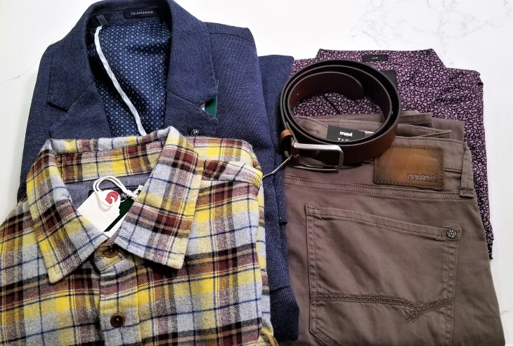 Men's Stitch Fix Box