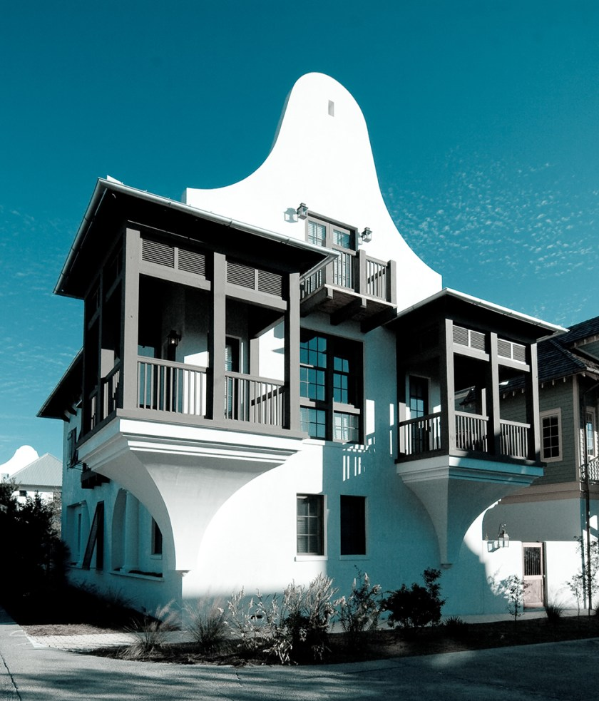 McNamara-Rosemary Beach House-Town Hall & West Water-Exterior-Front