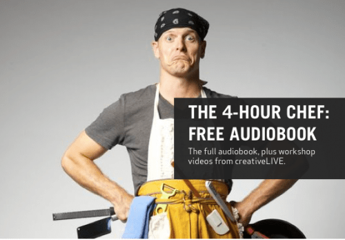 The BitTorrent Strikes Back: The 4-Hour Chef Audiobook Goes Loose