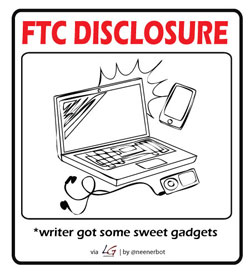 FTC disclosure: Writer got some sweet gadgets.