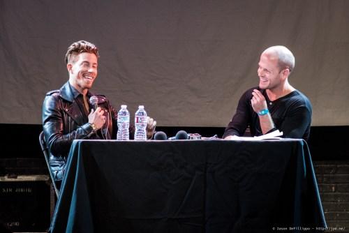 Shaun White and Tim Ferriss