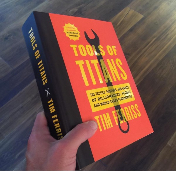 TOOLS OF TITANS — Sample Chapter and a Taste of Things to Come