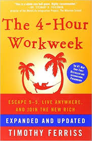 Book cover of The 4-Hour Workweek by Tim Ferriss.