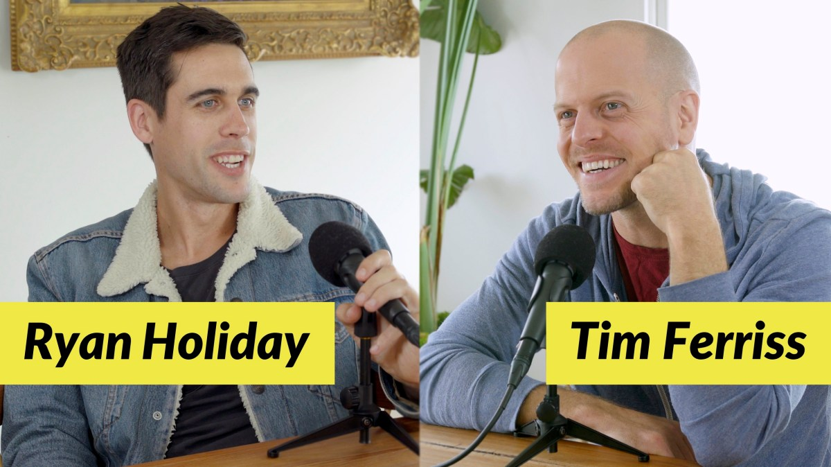 Ryan Holiday — Turning the Tables (#410)