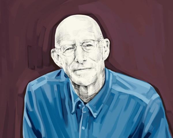 Artist's rendering of Michael Pollan.