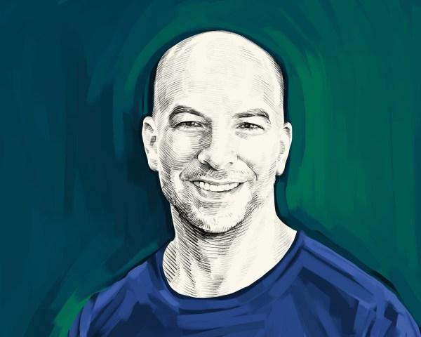 Artist's rendering of Peter Attia