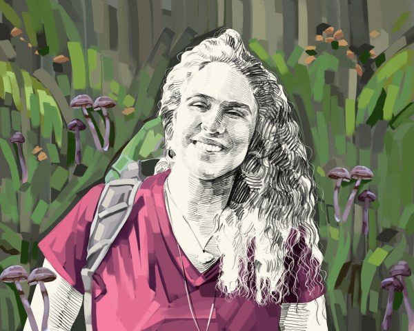 Artist's rendering of Giuliana Furci.