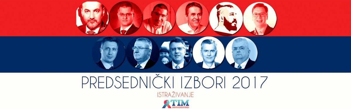Istraživanje: Predsednički izbori 2017