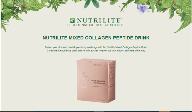 Nutrilite Mixed Collagen Peptide Drink Reviews