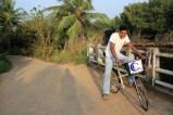 Chameera bei der Arbeit